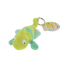 NICI Chameleon Chamilla Key Chain Animal Plush Beanbag 4 inches 10 cm - $11.00