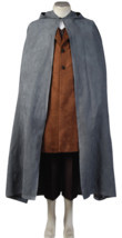 The Lord of the Rings Frodo Baggins Cosplay Costume Cape Coat Outfit Ful... - $120.00+