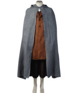 The Lord of the Rings Frodo Baggins Cosplay Costume Cape Coat Outfit Ful... - €108,75 EUR+