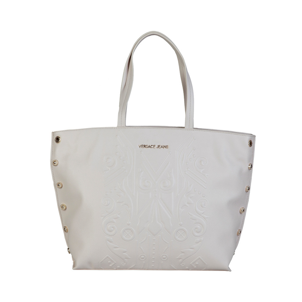 Versace Jeans White Handbag