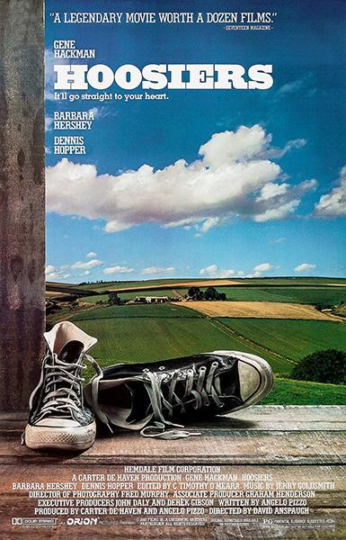 Primary image for Hoosiers - 1986 - Movie Poster