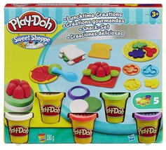 Play-Doh Sweet Shoppe Lunchtime Creations Playset 5 Cans - $14.00