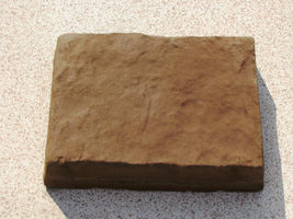 385-01 Umber Brown Concrete Cement Powder Color 1 lb. Makes Stone Pavers Bricks image 4