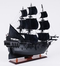 Pirate Ship Model Hand Crafted From Scratch Wooden Fully Assembled Boat ... - $592.99