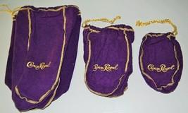 Crown Royal Drawstring Bag (MEDIUM) Felt Whiske... - $2.00