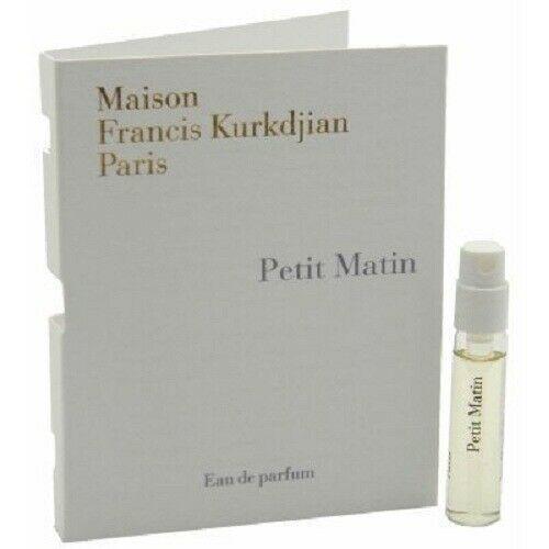 Maison Francis Kurkdjian PETIT MATIN Eau de Parfum Vial Spray 2ml / 0.06 fl oz - $13.37