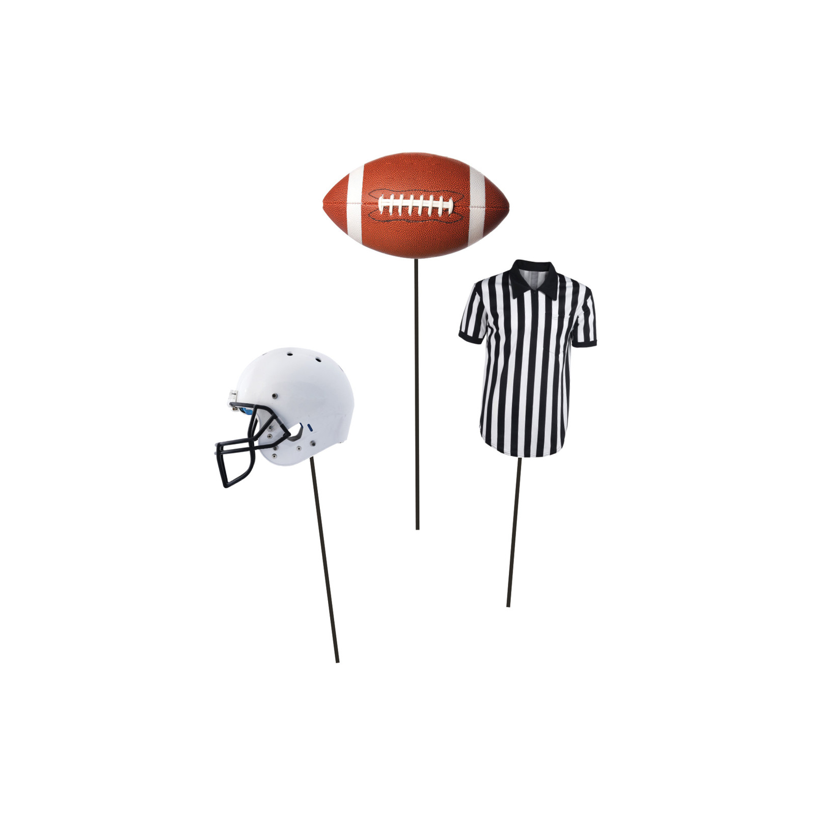 Football Centerpiece Sticks/Case of 18
