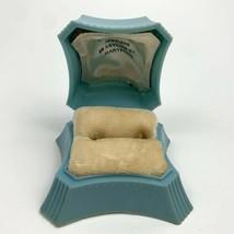 Art Deco Vintage Early Plastic Celluloid Ring Box Presentation Savitt De... - $49.45