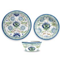 Sikandra Floral Melamine 12 Piece Dinnerware Set by TarHong - $117.99