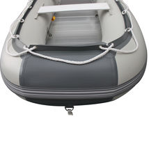 BRIS 9.8ft Inflatable Boat Tender Fishing Raft Dinghy Boat + Free Launch Wheels image 10