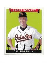 2007 Upper Deck Goudey Sport Royalty Cal Ripken Jr. Mini Insert Card #SR-CR - $19.80