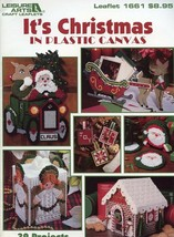 It's Christmas in Plastic Canvas PATTERN/INSTRUCTIONS 39 Projects LA1661 - $4.47