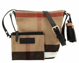 Burberry Mini Ashby Crossbody Bucket Bag New - $579.15
