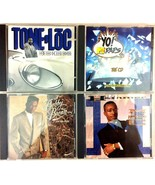 Vintage Rap Music CD Lot of 4 MC Hammer Yo MTV Raps Ton Loc Bobby Brown ... - $14.84