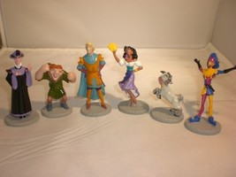 Disney Applause Hunchback of Notre Dame Miniature Figures Set of 6 Characters - $12.43