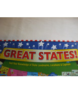 Boardgame Great States 2-6 players Ages 7+ - $69.29