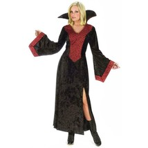 Red Rose Vampiress Adult Womens Halloween Costume Size Small 2-8 NEW - $19.75