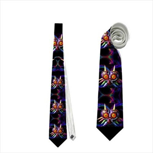 Primary image for necktie majora's mask geek nerdy neck  tie