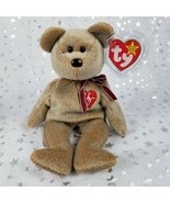 "Vintage Original TY Beanie Baby - 1999 Signature Bear - Tan 8.75""-New w/... - $40.56"