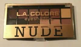 L.A. Colors Eyeshadow Nude 12 shade Palette 0.34 oz. (9.6 g) Eye Shadow ... - $6.92