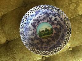 "RARE Vintage SCHUMANN Bavaria china ""Eerbeek"" Pierced Luncheon Plate 7-... - $15.84"