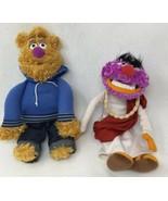 "Animal & Fozzie Bear Muppet Mayhem Plush Street Style Figures Sababa 9"" ... - $12.77"