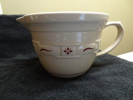 Longaberger Woven Traditions Batter Mixing Bowl Classic Red Great Shape Cl EAN - $38.99