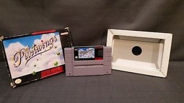 Pilotwings (Super Nintendo, 1991) SNES With Box and Cardboard Insert - $21.78