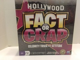 BRAND NEW Hollywood Fact Or Crap Board Game SEALED- Celebrity Trivia W/ Attitude - $11.29