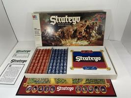 VINTAGE1986 STRATEGO Board Game Milton Bradley 100% complete - $24.74