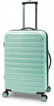"Hardside Spinner Suitcase Rolling Luggage 24"" Travel Mint Green Hard Sid... - $106.14"