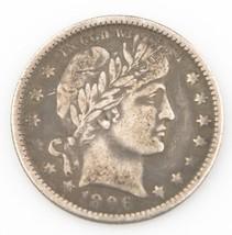 1896-O 25 ¢ Barber Cuarto de,Fuerte MB Estado,Mediano Tonificante,Resistente - $300.53