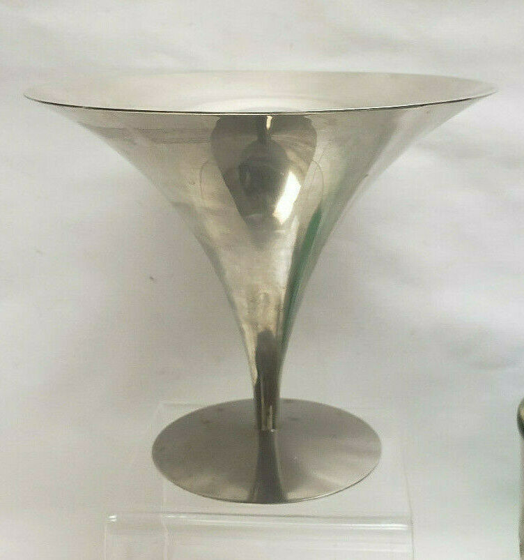 Primary image for Modern Design Mid-Century Chrome CANDY DISH - unkown mark