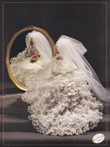 1992 Bride Doll, Annie's Cotillion Crochet Doll Clothes Pattern Booklet ... - $2.95