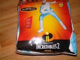 Adult Men Size XXL 50-52 Disney Incredibles 2 Frozone Deluxe Halloween Costume  - $48.00