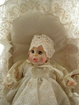 Vintage, Advertising Gerber Baby in Christening Gown Basket and Beddings - $118.70