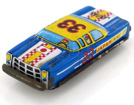 Vintage  Race Car JAPAN Tinplate Friction Toy TN Nakamura Retro 60's - $17.01