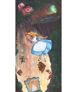 Down The Rabbit Hole 24 X 12 Künstler James C.Mulligan Le Leinen 95 - $392.42