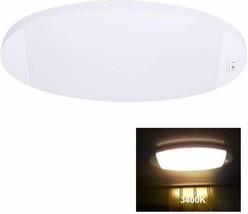 Facon Fashion LED Bright Pancake Light 12 Volt Interior 3400k Warm White  - $20.55