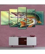 Gone Fishing 5 Piece Canvas Wall Decor No. 00001GF - $44.13+
