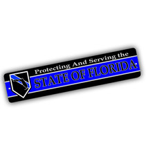 Thin Blue Line Design All 50 States  To Choose From Aluminum Street Sign - $17.95