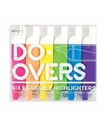 Ooly Do Over Highlighters - Set of 6 - $9.99