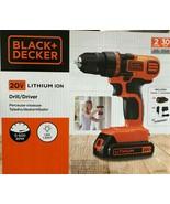 Black & Decker - LDX120C - 20V MAX Lithium Drill/Driver - $89.05