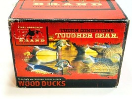 Final Approach HD Wood Duck Gunner Widgeon Floating 6 Pack Hunting Duck ... - $65.33
