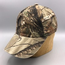 Signatures Realtree Camouflage Hinting Baseball Hat Cap Medium - $9.89