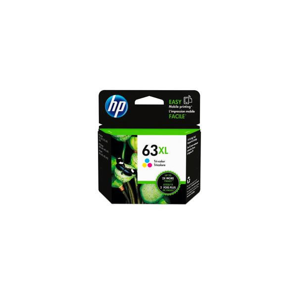 Primary image for Tri-color - HP 63XL High Yield Ink Cartridge (for OfficeJet 3830/4650)
