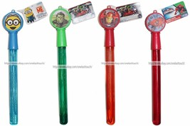 What Kids Want 3.5 Oz Character Giant Bubble Wand Avengers+Minions *You Choose* - $2.66