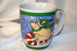 The Stone Bunny Inc Christmas Pigs Mug - $6.92