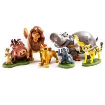 Disney Collection Lion Guard 6 Pieces Figurine Set, Kion, Simba, Pumbaa,... - $29.20