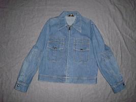 Vintage LEE denim Women's Jacket Size L Made In U.S.A. - $34.99